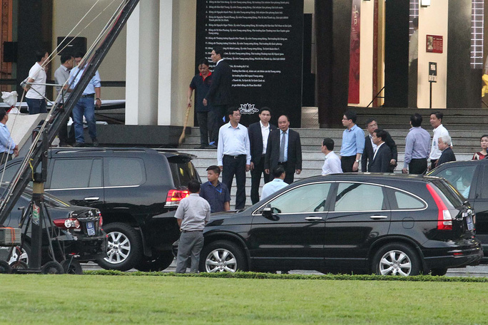 Hội trường Thống Nhất trước giờ đón linh cữu cố Thủ tướng Phan Văn Khải - Ảnh 11.