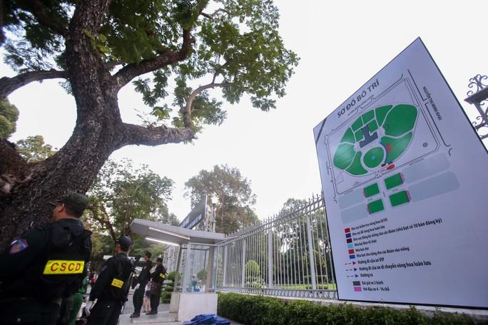 Hội trường Thống Nhất trước giờ đón linh cữu cố Thủ tướng Phan Văn Khải - Ảnh 7.