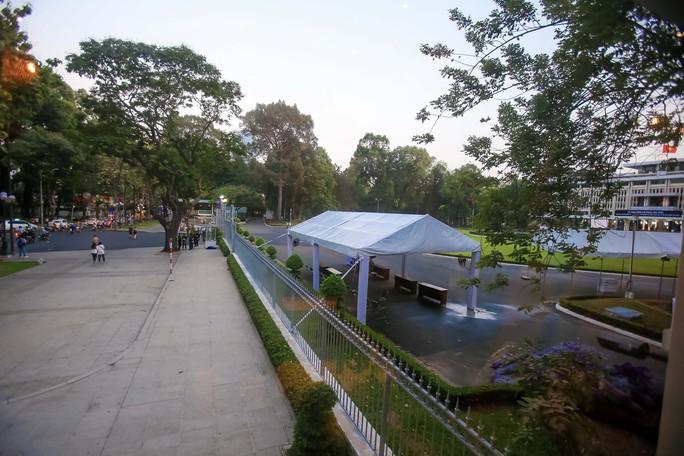 Hội trường Thống Nhất trước giờ đón linh cữu cố Thủ tướng Phan Văn Khải - Ảnh 6.