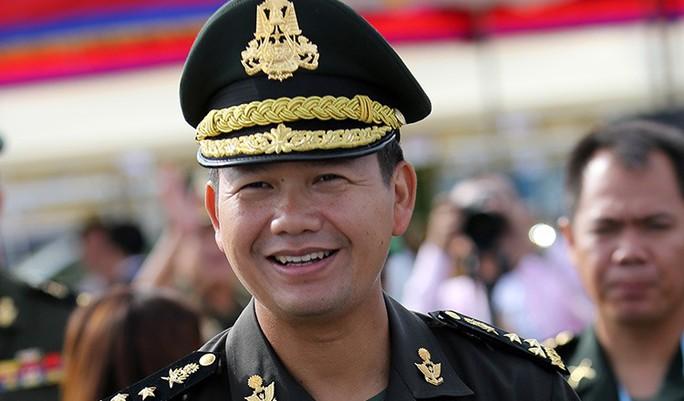 Con trai cả Thủ tướng Hun Sen thêm chức cao - Ảnh 1.