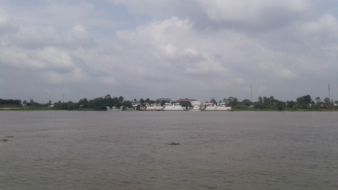 Ngắm cầu Cao Lãnh bắc qua sông Tiền trước ngày thông xe - Ảnh 12.