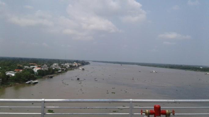 Ngắm cầu Cao Lãnh bắc qua sông Tiền trước ngày thông xe - Ảnh 11.