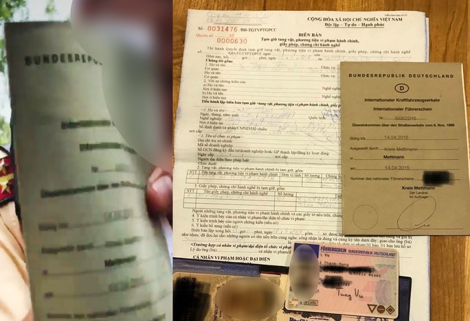 Thông tin chính thức vụ CSGT Cát Lái phạt Việt kiều Đức - Ảnh 1.