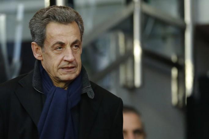 Cựu Tổng thống Pháp Nicolas Sarkozy bị bắt - Ảnh 1.