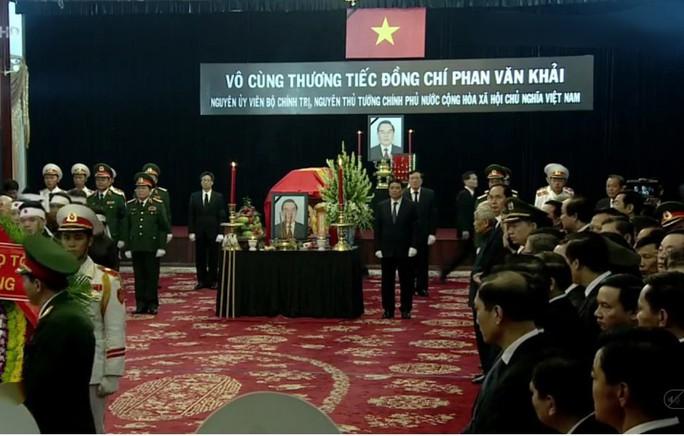 Sáng nay, bắt đầu Quốc tang nguyên Thủ tướng Phan Văn Khải - Ảnh 2.