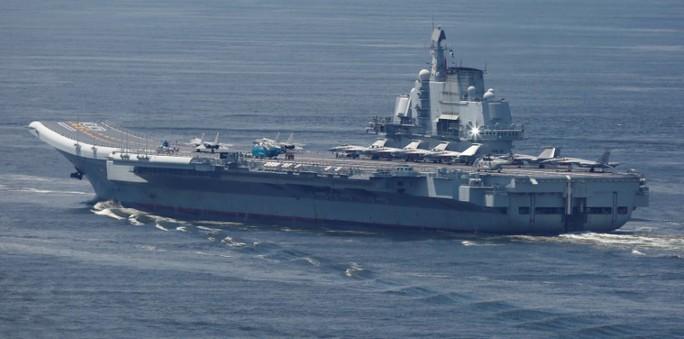 """Trung Quốc điều tàu sân bay """"dằn mặt"""" Đài Loan - Ảnh 1."""