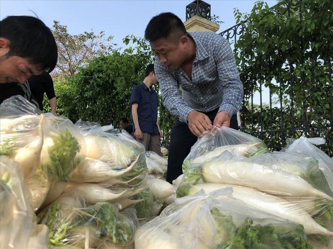 Chùm ảnh: Người Hà Nội nhiệt tình giải cứu củ cải - Ảnh 8.
