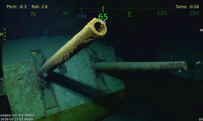 Tìm thấy tàu chiến Mỹ bị Nhật Bản đánh chìm trong Thế chiến II - Ảnh 2.