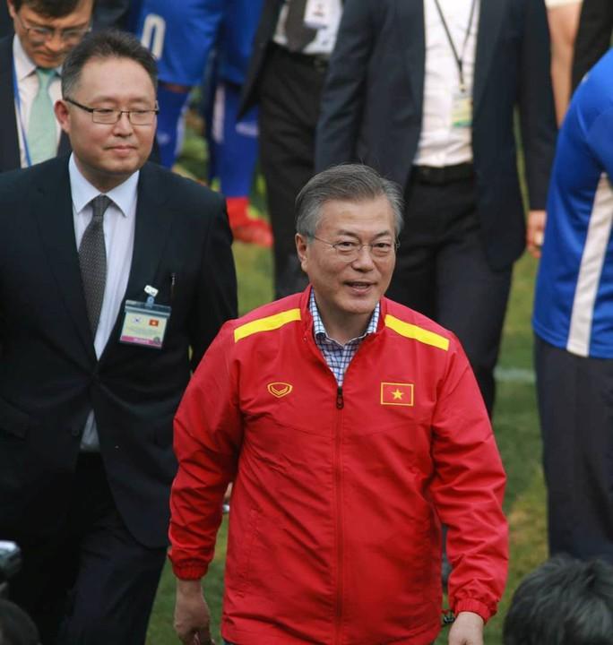 Tổng thống Hàn Quốc: Nếu không có bão tuyết, chắc chắn U23 Việt Nam đã vô địch - Ảnh 5.