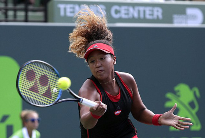 Serena Williams thua sốc Osaka, sớm bị loại khỏi Miami Open - Ảnh 1.