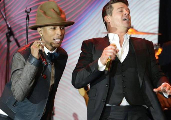 Robin Thicke và Pharrell Williams thua vụ kiện đạo nhạc triệu đô - Ảnh 2.