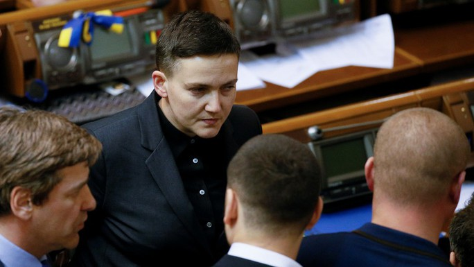 """Ukraine: Nữ """"anh hùng chống Nga"""" bị bắt vì âm mưu khủng bố - Ảnh 1."""
