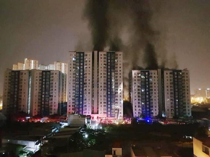 Thủ tướng chỉ đạo điều tra, xử lý nghiêm vụ cháy chung cư Carina, TP HCM - Ảnh 1.