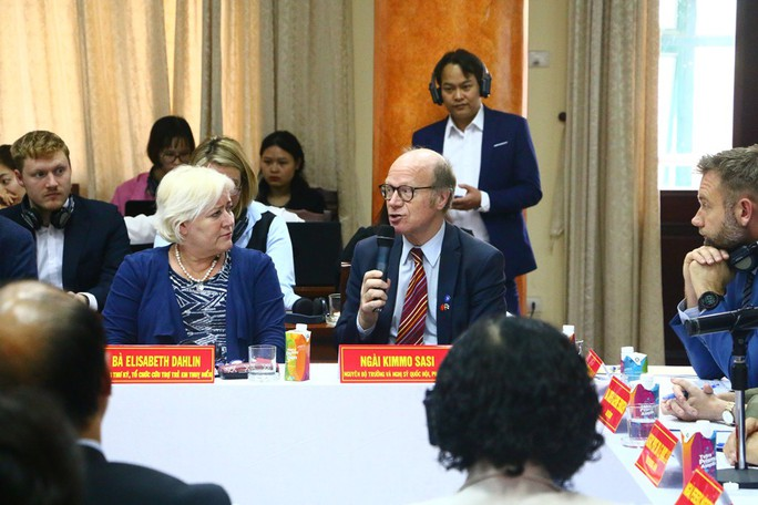 Nguyên Thủ tướng Phan Văn Khải mong phát triển và bình yên như các nước Bắc Âu - Ảnh 2.