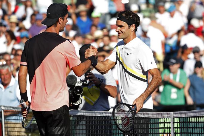Roger Federer gục ngã tại Miami Open - Ảnh 1.