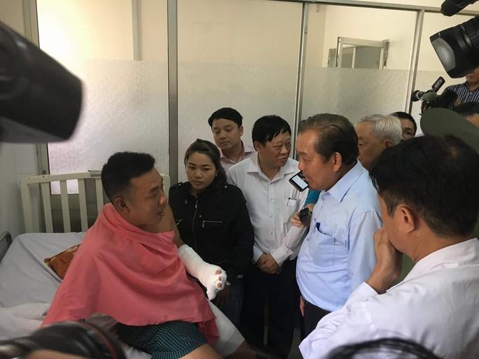 Phó Thủ tướng Trương Hòa Bình: Khẩn trương làm rõ vụ cháy chung cư Carina - Ảnh 5.