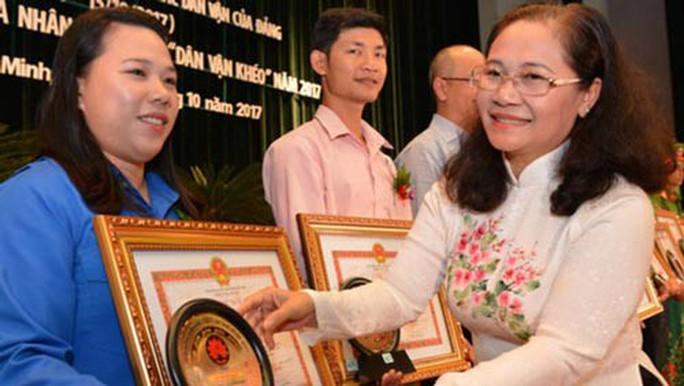 Bổ nhiệm trưởng Ban Tổ chức, Ban Dân vận Thành ủy TP HCM - Ảnh 1.