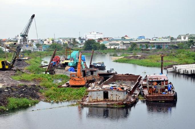 Nhiều sai phạm tại các dự án chống ngập ở TP HCM - Ảnh 1.
