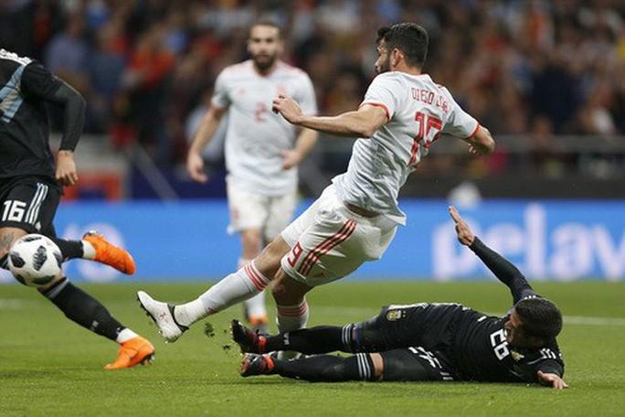 Vắng sao Messi, Argentina thảm bại dưới tay Tây Ban Nha - Ảnh 3.