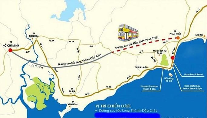 Cao tốc Bắc - Nam có thể dừng dự án Dầu Giây - Phan Thiết của Bitexco - Ảnh 1.