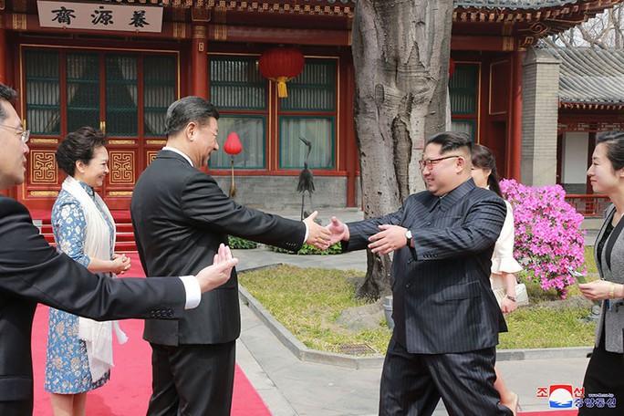 Ẩn ý chuyến thăm Trung Quốc của ông Kim Jong-un - Ảnh 1.