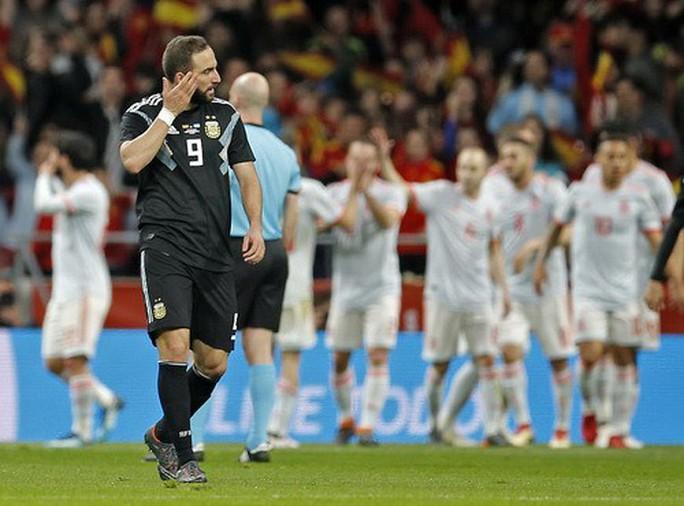 Vắng sao Messi, Argentina thảm bại dưới tay Tây Ban Nha - Ảnh 6.