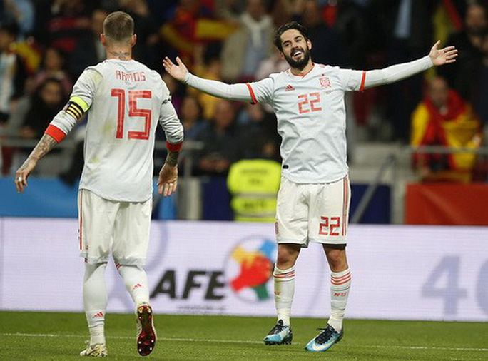 Vắng sao Messi, Argentina thảm bại dưới tay Tây Ban Nha - Ảnh 4.
