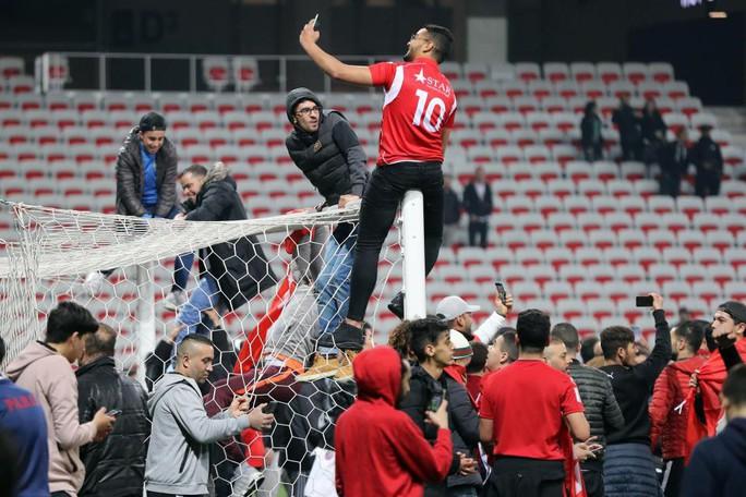 Thắng giao hữu, fan Tunisia ăn mừng như thể vô địch - Ảnh 7.