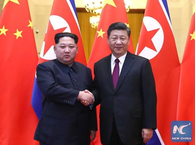 Trung Quốc xác nhận ông Kim Jong-un tới thăm, gặp Chủ tịch Tập Cận Bình - Ảnh 1.