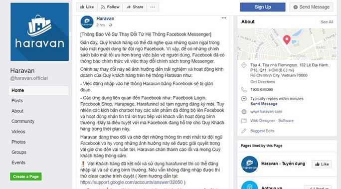 Facebook đóng API các app ở Việt Nam, giới kinh doanh online náo loạn - Ảnh 1.