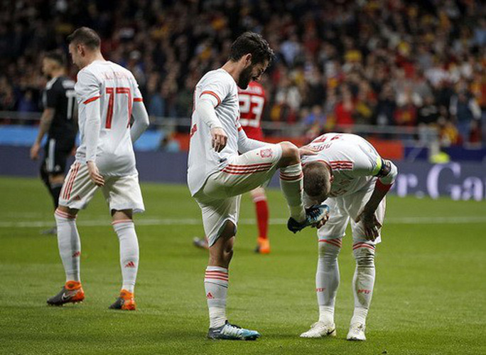 Vắng sao Messi, Argentina thảm bại dưới tay Tây Ban Nha - Ảnh 5.