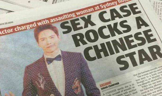 Sao Trung Quốc bị bắt ở Úc vì bị cáo buộc cưỡng dâm - Ảnh 1.