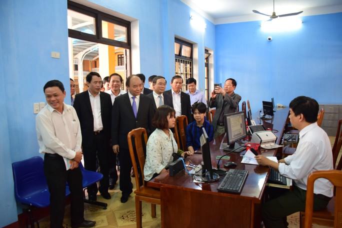 Thủ tướng biểu dương Công an Thừa Thiên - Huế trong công tác cải cách hành chính - Ảnh 1.