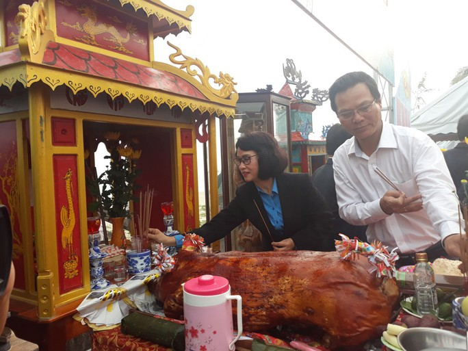 Độc đáo lễ hội cầu ngư đầu năm của ngư dân Đà Nẵng - Ảnh 9.