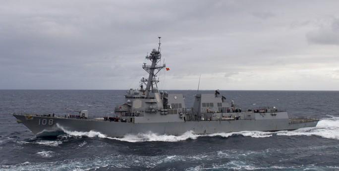 Video hoạt động của biên đội tàu sân bay Mỹ đang đến Đà Nẵng - Ảnh 8.