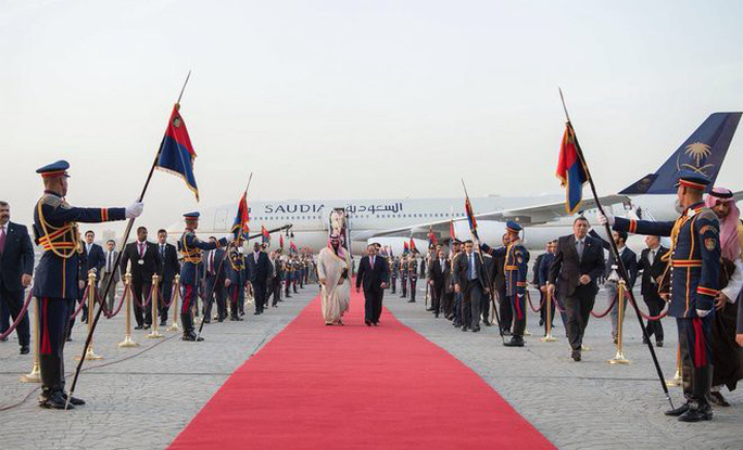 """Ả Rập Saudi và Ai Cập lập quỹ xây """"đại thành phố"""" - Ảnh 1."""