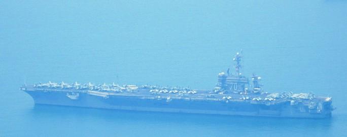 Tàu sân bay USS Carl Vinson đã vào vùng biển cảng Tiên Sa - Ảnh 6.