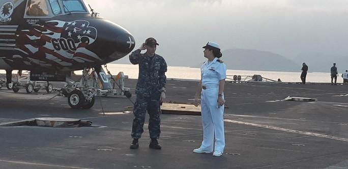 Ngắm dàn máy bay khủng trên tàu sân bay USS Carl Vinson - Ảnh 16.