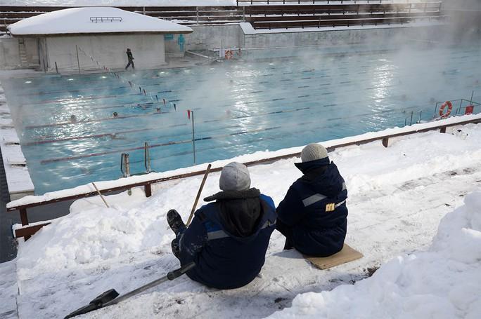 Hồ bơi độc nhất Moscow - Ảnh 4.