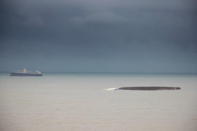 Vẫn còn 7 tàu chìm, mắc cạn trên vịnh Quy Nhơn - Ảnh 2.