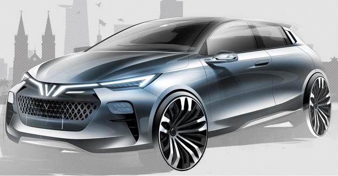 VINFAST công bố 36 mẫu thiết kế ô tô chuẩn quốc tế - Ảnh 4.