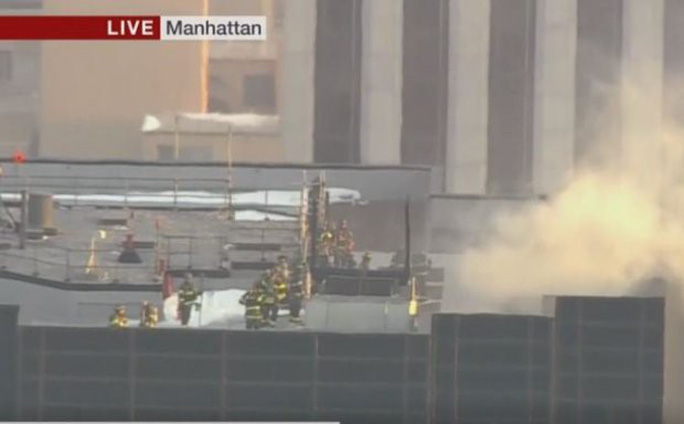 Tòa nhà Trump Tower xảy ra hỏa hoạn - Ảnh 4.