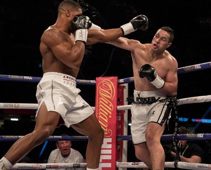 Hạ đối thủ sau 12 hiệp, Anthony Joshua thống nhất 4 đai vô địch - Ảnh 7.