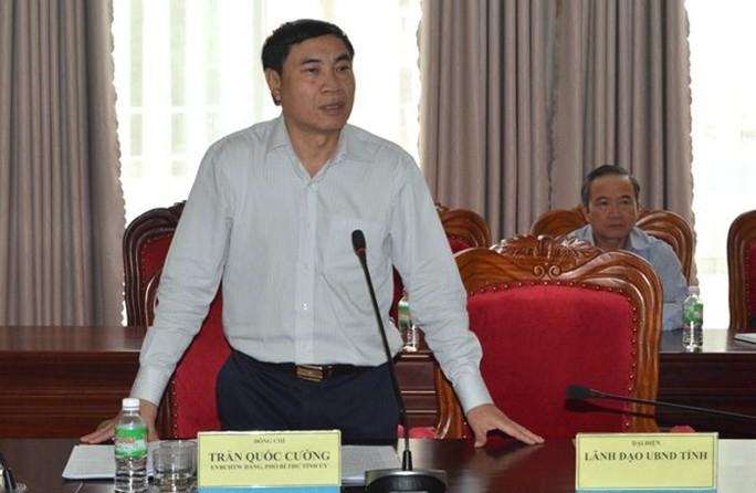 Bộ Chính trị kỷ luật cảnh cáo ông Trần Quốc Cường, nguyên phó tổng cục trưởng Tổng cục Tình báo - Ảnh 1.