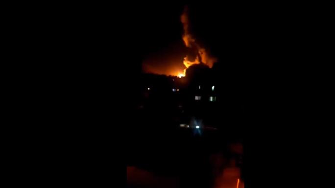 Syria bắn hạ 20 tên lửa - Ảnh 1.