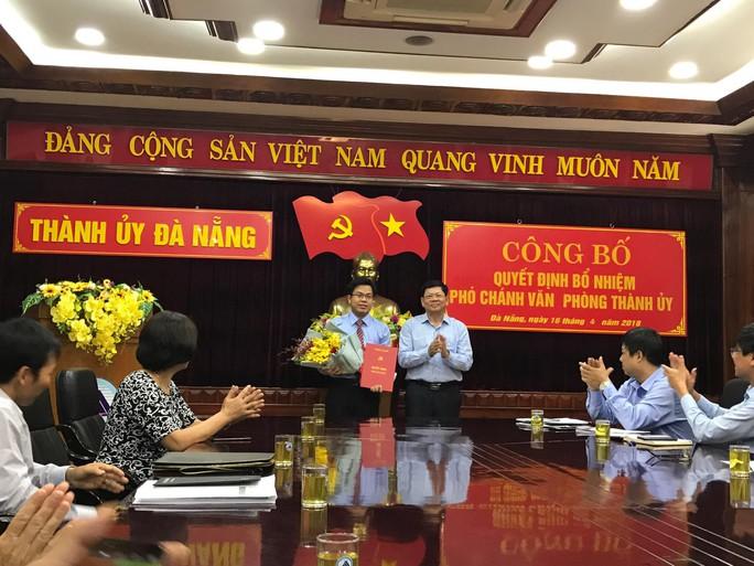 Văn phòng Thành ủy Đà Nẵng có nhân sự mới - Ảnh 1.