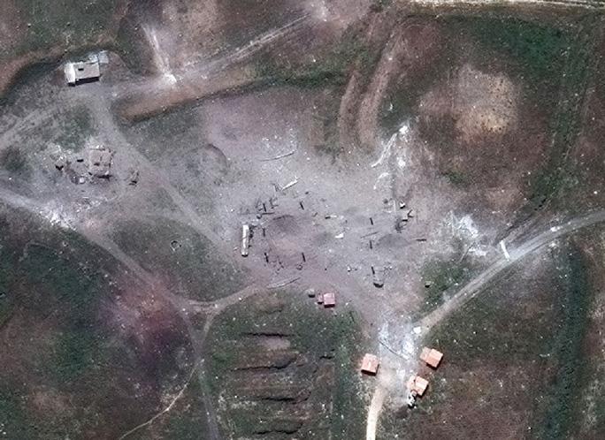 Chi tiết tình trạng các mục tiêu tại Syria sau cuộc không kích của Mỹ - Ảnh 8.