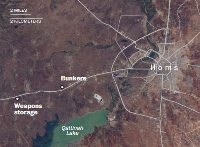 Chi tiết tình trạng các mục tiêu tại Syria sau cuộc không kích của Mỹ - Ảnh 6.