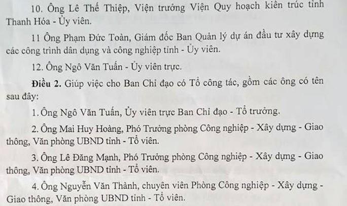 Bị kỷ luật, cựu phó chủ tịch tỉnh Thanh Hóa vẫn làm… lãnh đạo? - Ảnh 3.
