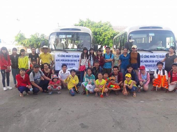 Chủ nhà trọ tổ chức cho công nhân đi du lịch - Ảnh 3.